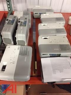 (9) Epson Projectors