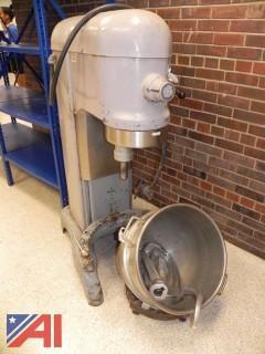 Hobart 60QT H-600T Bakery/Pizza Dough Mixer w/ Bowl & Attachments