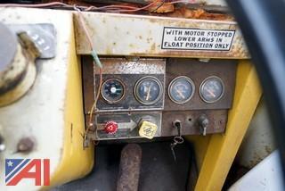 1970's Trojan 3000 Wheel Loader/16' Push Blade