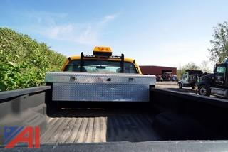 2001 Ford XLT F250 4WD SD Pickup Truck with Boss Plow