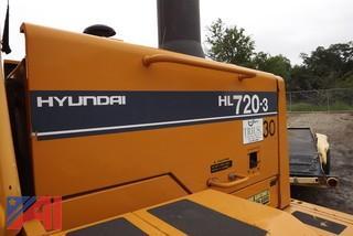 2000 Hyundai HL720-3 Front end loader