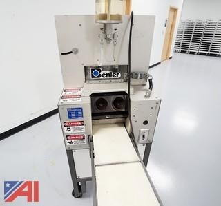 Benier Two Pocket Kaiser Roll Stamper Machine #CG-102