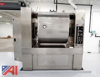 Oshikiri HM-1000lb Horizontal Dough High Volume Dough Mixer