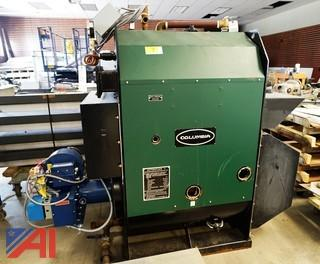 Columbia #MPH-30 Steam Boiler & Expansion Tank