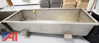 Industrial Stainless Steel Dough Trough