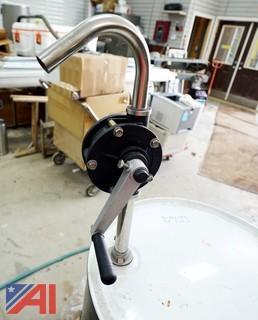 55 Gallon Drum & Pump Lube-All 7 Mineral Divider Oil
