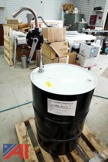 55 Gallon Drum & Pump Lube-All 7 Mineral Divider Oil