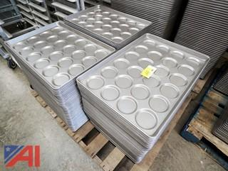 189) Piece Chicago Metallic #42495 Bun & Roll Pan/24 Mold