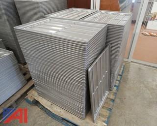 160) Piece Chicago Metallic 10 Mold Hoagie Bun Pans