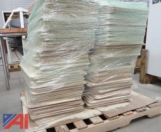 """185) Piece 18"""" X 26"""" Wooden Proofing Boards"""