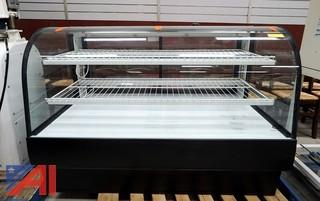 "Federal #CGD5942 59"" Full Service Bakery Case Non-Refrigerated"