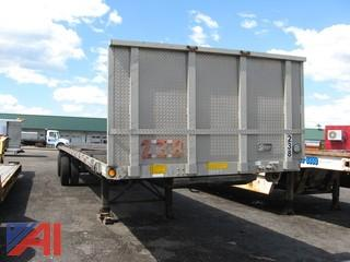 1999 Utility Flatbed Deck Semi Trailer