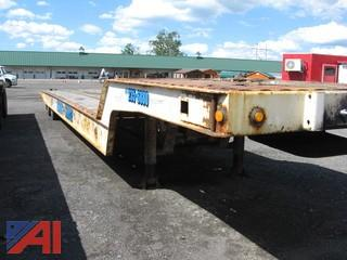 1998 Landoll 35 Ton Slide Axle Roll back semi-trailer
