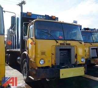 2001 Volvo Refuse Truck Leach Rear Loader/S-142