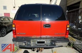 2001 Chevy Tahoe SUV/F446