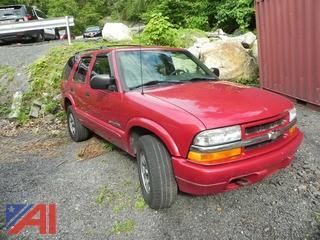 2002 Chevy Blazer SUV
