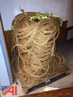 Pallet of Hemp Rope