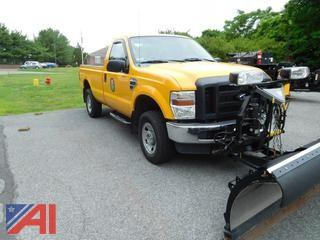 2008 Ford F250 SD Pickup w/ Plow