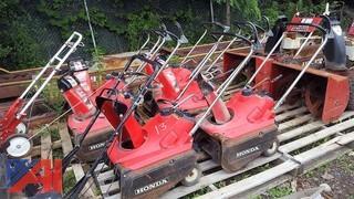(6) Honda Snow Blowers