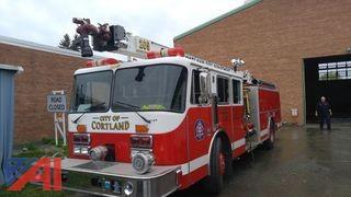 1990 KME FireFox Fire Truck