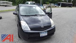 2005 Toyota Prius-Hybrid 4DSD