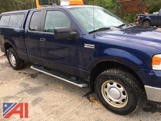 2008 Ford F150 FX4 SuperCab  Pickup