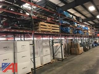 (10) Sections of heavy duty Pallet Racking