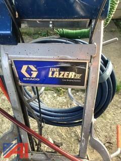 Graco Line Lazer IV 3900-Two Spray Gun System