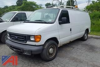 2006 Ford E150 Econoline Cargo Van