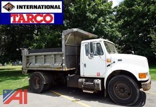 2001 International 4900 Tarco Dump Body Truck