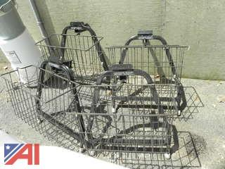 (4) Metal Baskets That Fit Gem 825 Electric Cars