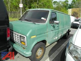 1986 Ford Econoline E150 Cargo Van