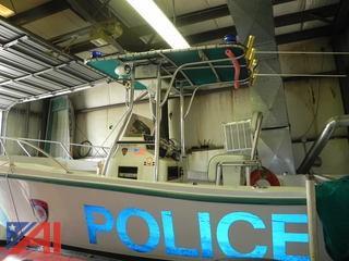 1997 Mako 22 Foot Fiberglass Boat