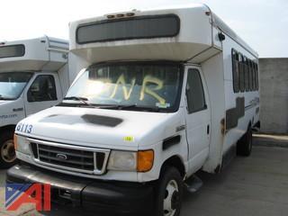 2006 Ford E450 Bus #8113
