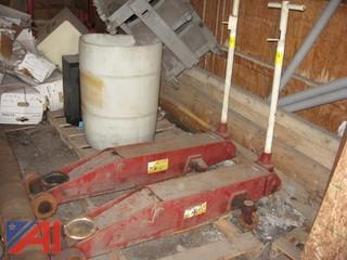 (2) 10 Ton Heavy Duty Floor Jacks