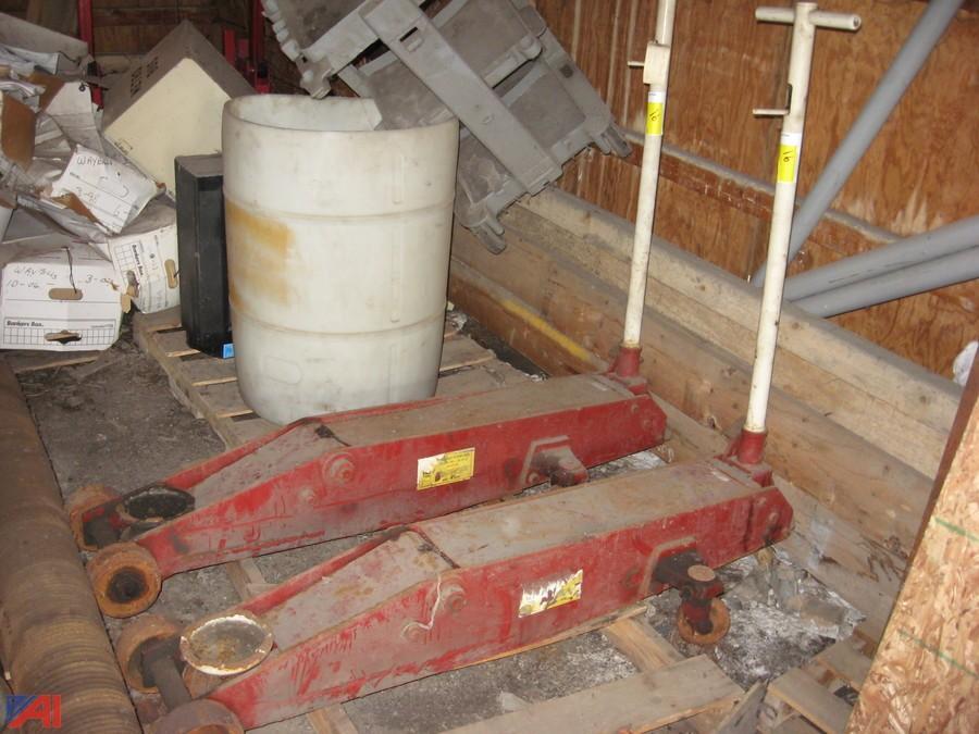 Heavy Tonnage Epoxy Floor : Auctions international auction nfta surplus item