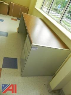 Large Metal Desk