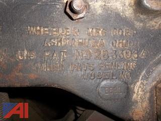 Wheeler MFG Corp. Heavy Duty Pipe Cutter