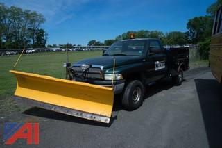 2002 Dodge Ram 2500 Pickup w/ Plow