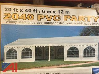 New 20ft X 40ft PVC Party Tent