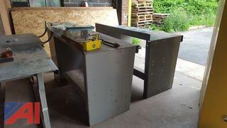 (2) Steel Work Tables