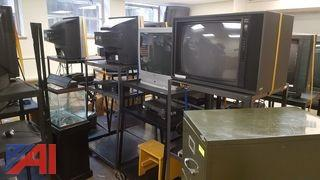 Large Lot of Televisions and More!