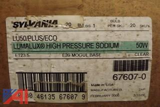 (180) 50 Watt High Pressure Sodium Street Light Bulbs