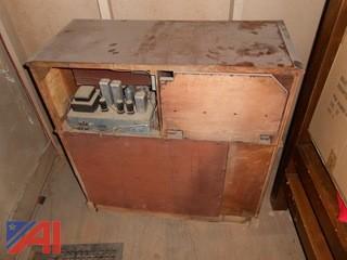 General Electric Frequency Modulation Phono Radio Combination LFC-1228