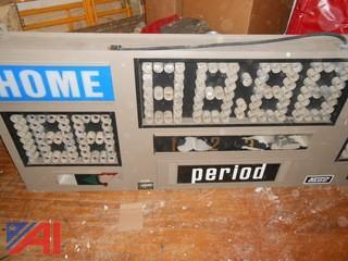 Nevco Scoreboard Electric Model 2400