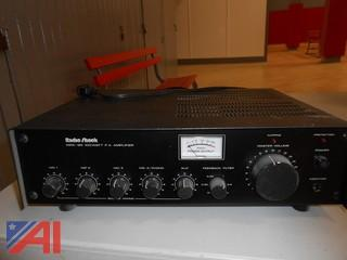 Radio Shack MPA-95 100 Watt PA Amplifier & Microphone