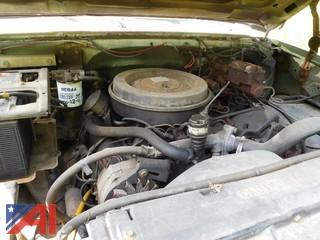 1986 Chevy D30 Pickup
