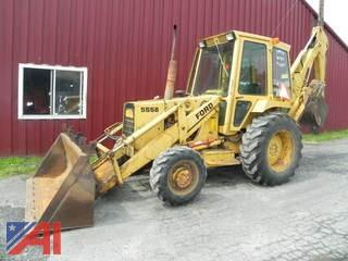 1988 Ford 555B Backhoe/Loader