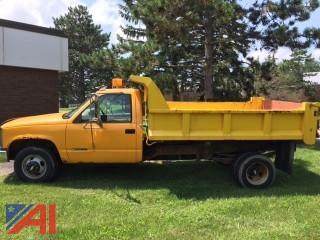 1999 Chevrolet 3500 Dump Truck