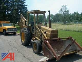 1979 Ford 555 Backhoe